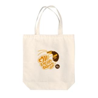 ミイデラゴミムシ Tote bags