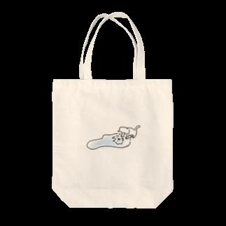 Zundamanの水たまり猫ちゃん Tote bags