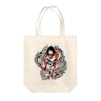 日本国娘2000 Tote bags