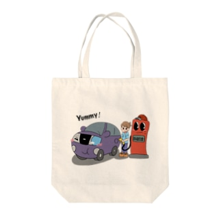 lunch time♪ Tote bags