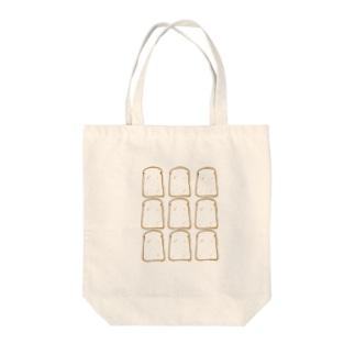 パン増殖中 Tote bags