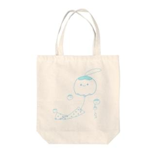 クラゲ風鈴 Tote bags