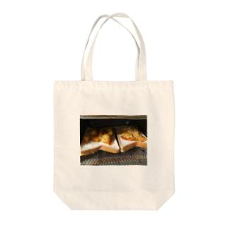 トースト ピザ Tote bags