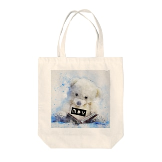 MDV ロゴべア Tote bags