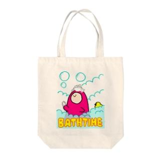 入浴中 - BATHTIME Tote bags