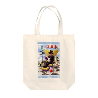 Curious Bunnies Tote bags