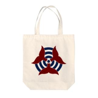 イルテクロゴ(セーラー) Tote bags