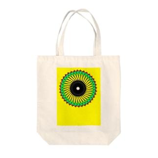 向日葵太陽 Tote bags