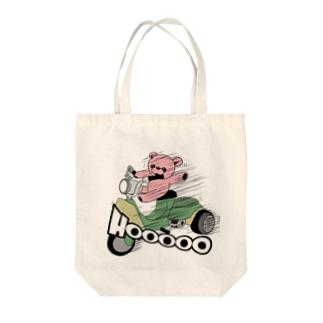 さんぺいとバイク Tote bags