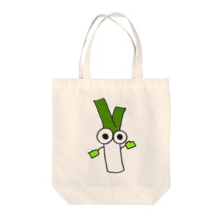ネギ坊 Tote bags