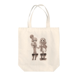 Chris and Carhy Tote bags