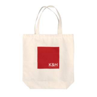 Ploughのトートバッグ レッドロゴ Tote bags