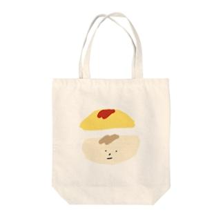 オム坊 Tote bags