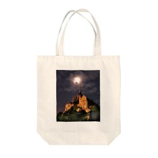 ブラン城 Tote bags