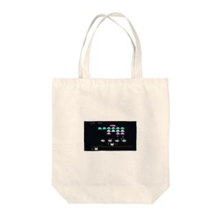 にゃんべーだー Tote bags