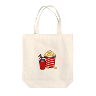 Popcorn and Drinks Tote bags