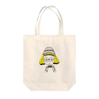 サブカルちゃん Tote bags