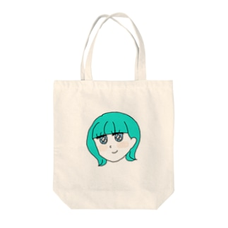 みどりちゃん Tote bags