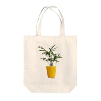 植物シリーズ(テーブルヤシ) Tote bags