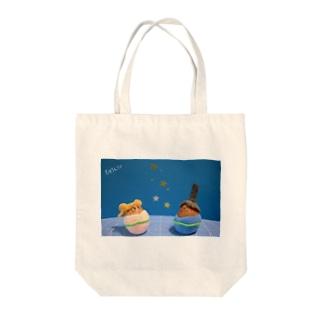 七夕ひこたま☆おりたま Tote bags