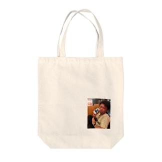 ニンゲンのタロウ Tote bags
