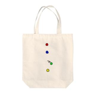 ボタン Tote bags