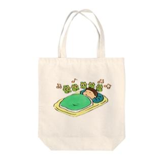 安眠カエル合唱隊 Tote bags