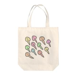 プラナリア Tote bags