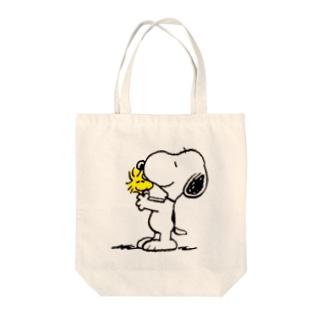 スヌーピー Tote bags