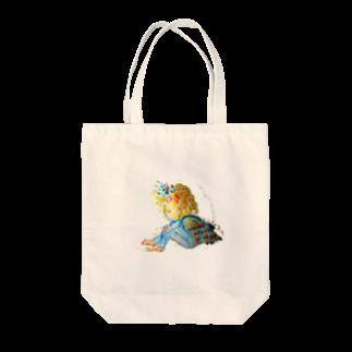 ハウズのお店屋さんのはねやすめ Tote bags