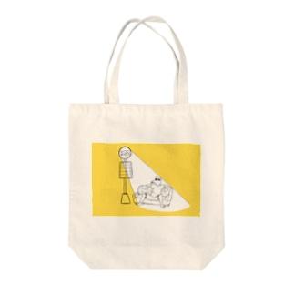いぬさん Tote bags