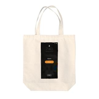 朝気づいたらスクショしがちな画面 Tote bags
