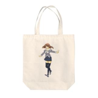 セーラー服の女の子 Tote bags