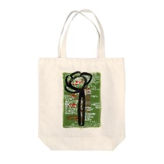 草花 Tote bags