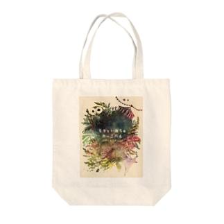 モリといのちのカーニバル Tote bags
