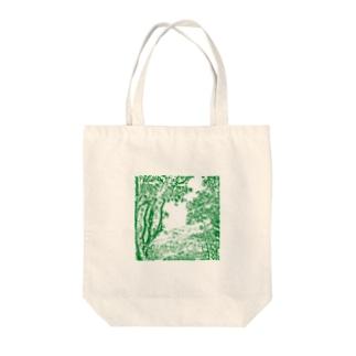 自然 Tote bags