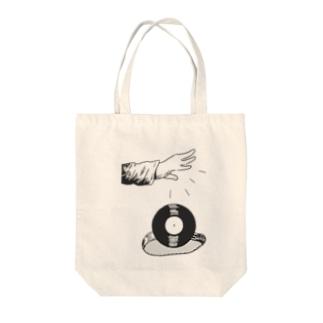 HERE I AM / ANA Tote bags