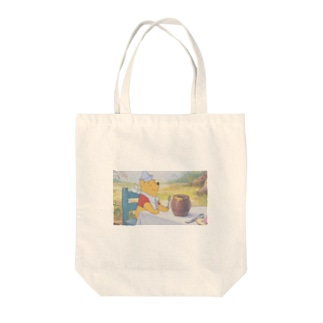 プーさん Tote bags