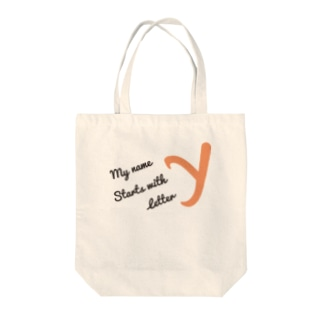 My name starts with letter Y Tote bags