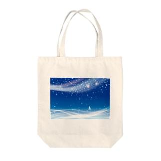 夢の通ひ路 Tote bags