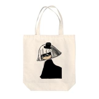 国王コスの花子さん Tote bags