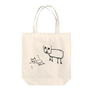 猫好好ちゃん召喚中… Tote bags