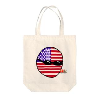 USAあめりかボール(アメリカボール)  Tote bags
