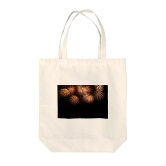 花火 Tote bags