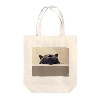 にゃ Tote bags