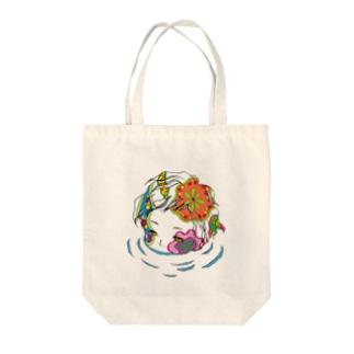 浸食 Tote bags