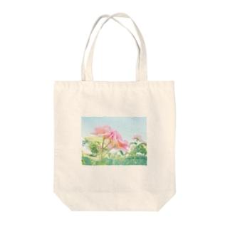 ばらの花 Tote bags
