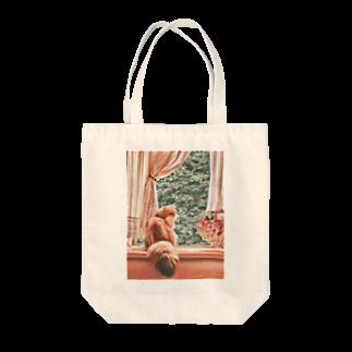 こべびちゃんのお店の窓辺の猫こべびちゃん  Tote bags