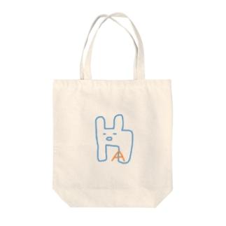 アルパカのAくん Tote bags