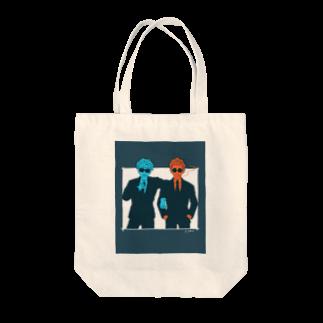 ヤマモトヤマト☂︎のBLACK BOYS Tote bags
